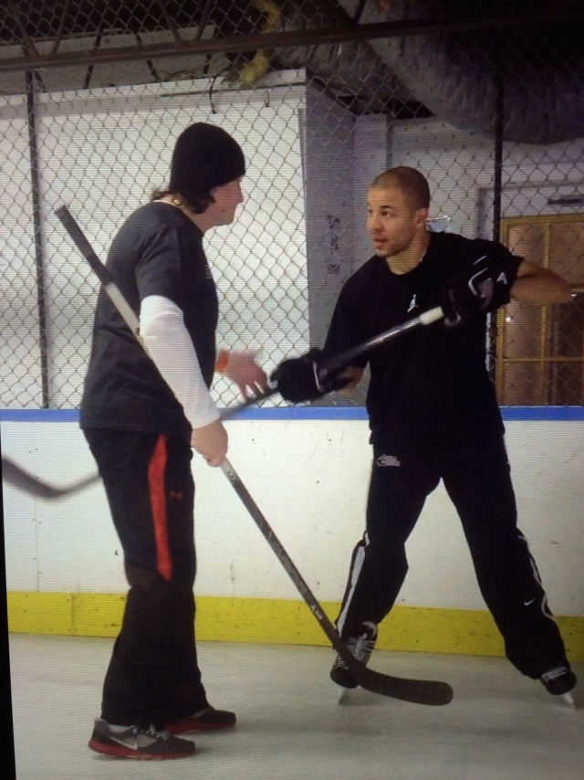 Dr. Shot & Jarome Iginla